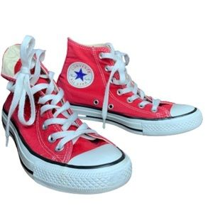 Converse Chuck Taylor All Star Hi-Top in Red 7